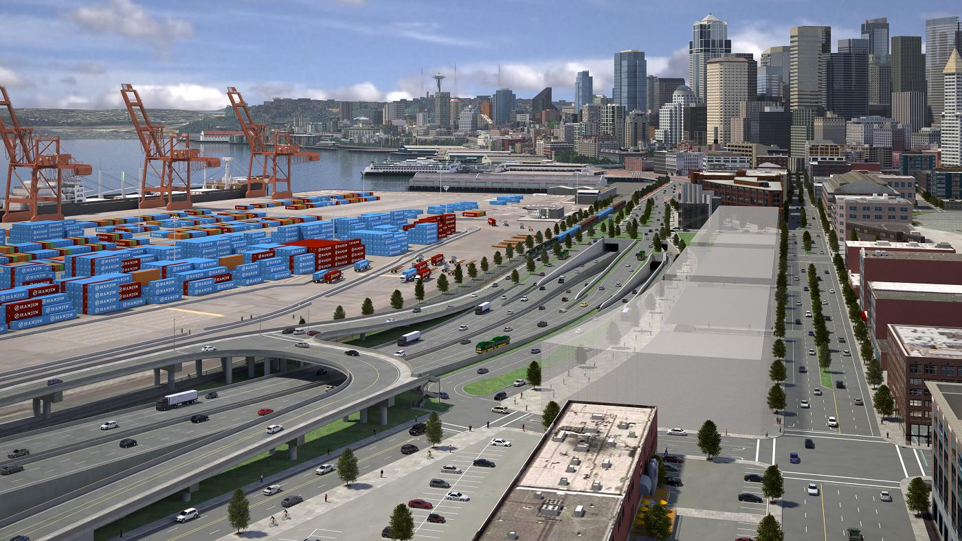 The Alaskan Way Viaduct Bored Tunnel Replacement