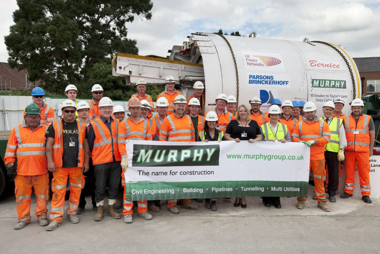 Tbm Welcomed To London Cable Site The Tunnelling Journal