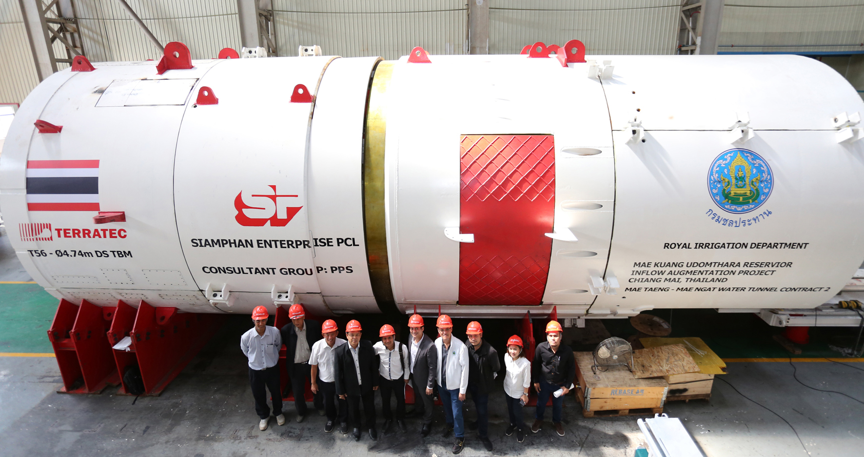 Terratec supply TBMs to Thai water project - The Tunnelling Journal