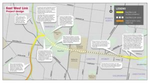 east west link stage one design map1