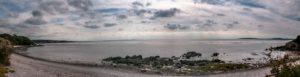 Morecambe Bay from Arnside panorama LR1