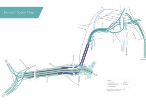 West Gate Tunnel Project Map 1