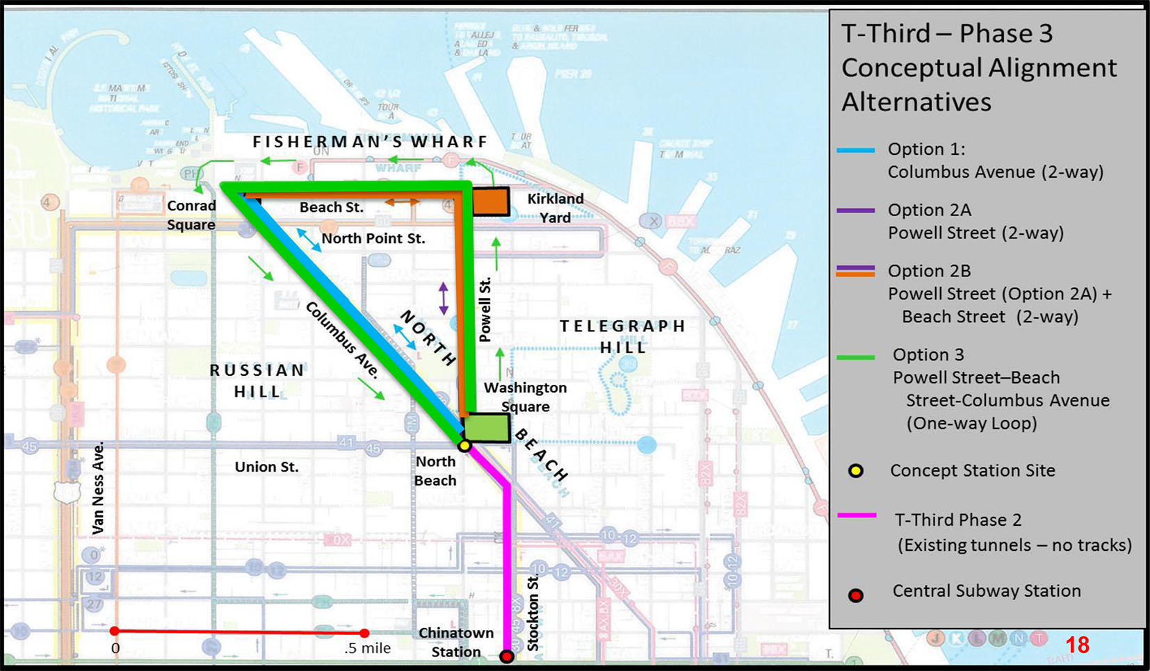 Subway Map In Chinatown.Sfmta Eyes Central Subway Extension To North Beach The Tunnelling