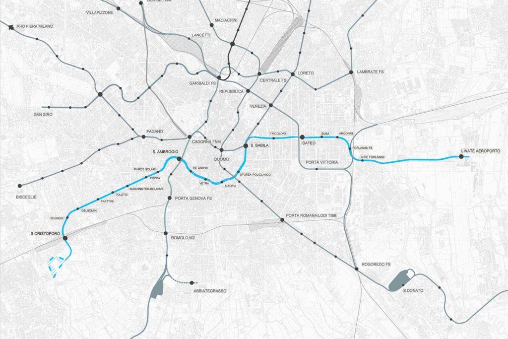M4 Metro Line 1