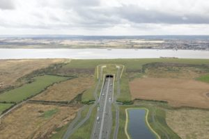 Design refinement consultation – proposed northern tunnel entrance approach looking south