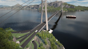 Julsundet Bridge Illustration